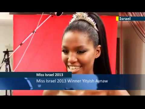 Miss Israel 2013- Yityish Aynaw becomes first ever Ethiopian-Israeli winner of beauty crown