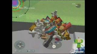 Katamari Damacy PlayStation 2 Gameplay - Narf