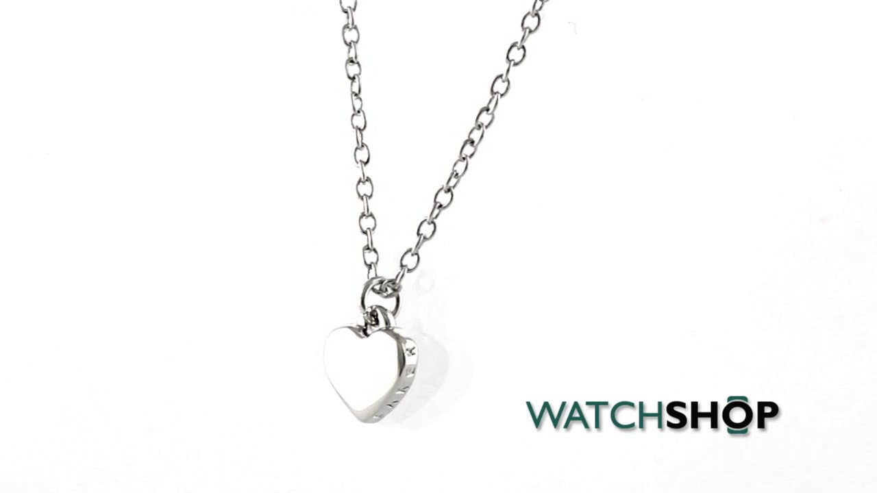59e7e97bb123 Ted Baker Jewellery Ladies  PVD Silver Plated Hara Tiny Heart Pendant  Necklace (TBJ1145-01-03)