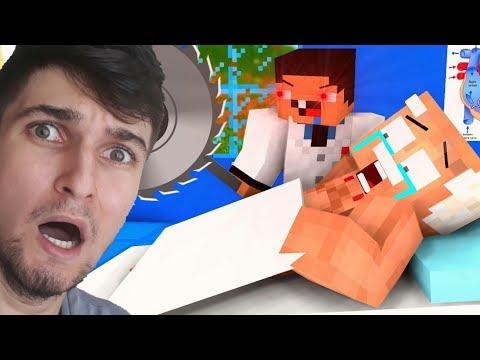 NOOB Vs PRO - KATİL DOKTOR (Minecraft Animasyonları)