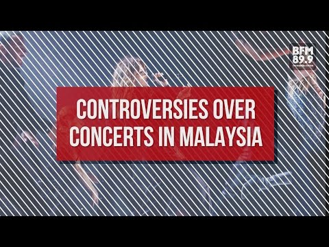 Controversies Over Concerts In Malaysia [HEADLINES]