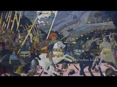 Paolo Uccello, Battaglia Di San Romano The Battle Of San Romano, NG, Louvre, Uffizi (manortiz)