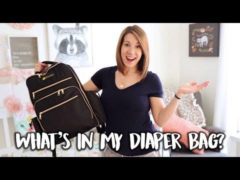 What's In My Diaper Bag?   Newborn Baby