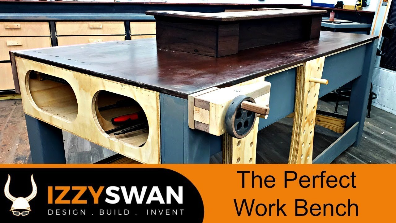 ultimate woodworking workbench | what is the perfect bench?