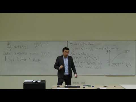 Computational Physics Lecture 22, Numerical Integration of ODEs