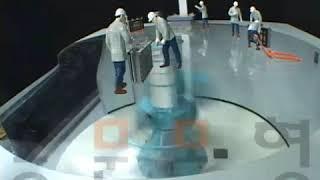 [산업모형] 지반실험장치 시뮬레이션 전시모형