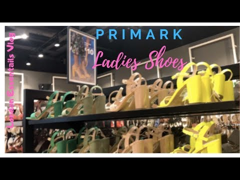Primark Ladies Shoes May 2019