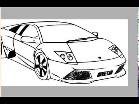 car-drawing-lamborghini