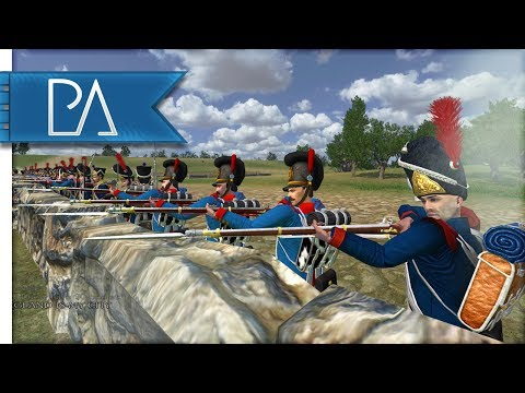 BATTLE OF WATERLOO - Mount And Blade: Napoleonic Wars Gameplay