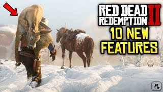Red Dead Redemption 2: 10 More NEW Awesome Features & Details