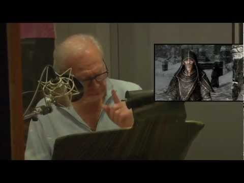 THE ELDER SCROLLS V  SKYRIM The Voice Actors of Skyrim.flv