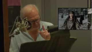 THE ELDER SCROLLS V SKYRIM The Voice Actors of Skyrim.flv