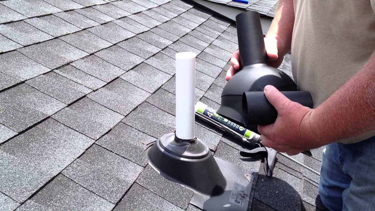 Fixing Or Preventing A Roof Leak By Installing A Perma