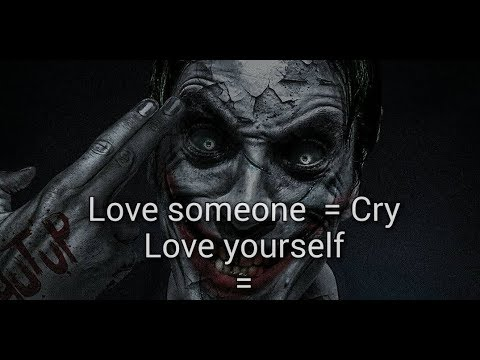 Best Joker Quotes Of All Time 2018 Youtube