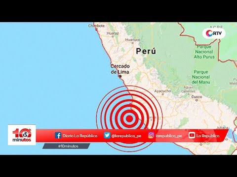 Dos sismos sacudieron Pisco esta madrugada - 10 minutos Edición Matinal
