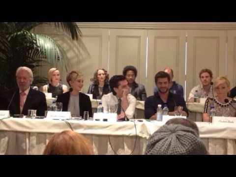 Catching Fire LA Cast Press Conference (Audio)