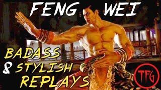 鉄拳 Tekken - Feng Wei : Badass & Stylish Replays Compilation + Fundamentals Lesson Mp3