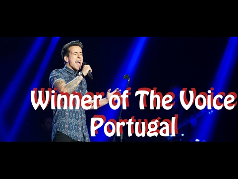 Winner Of The Voice Portugal 2016Fernando Daniel