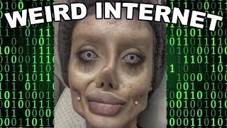 Who is Sahar Tabar? The shocking Angelina Jolie look alike  - Weird Internet