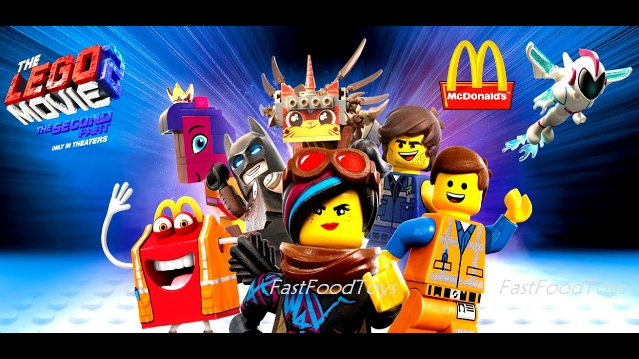 2019 Mcdonald S Happy Meal Toys The Lego Movie 2 How To