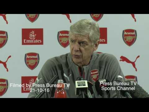 Arsene Wenger pre Arsenal vs Middlesborough