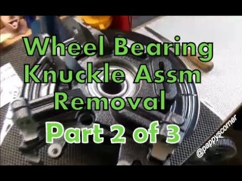 Wheel Bearing Hub Knuckle Assy 2002 Explorer Part 2 Removal