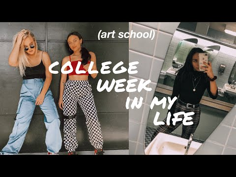 COLLEGE WEEK IN MY LIFE | fashion student at SCAD