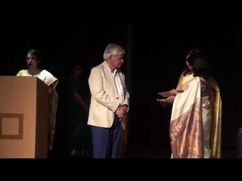 Indore artists receiving awards - 21