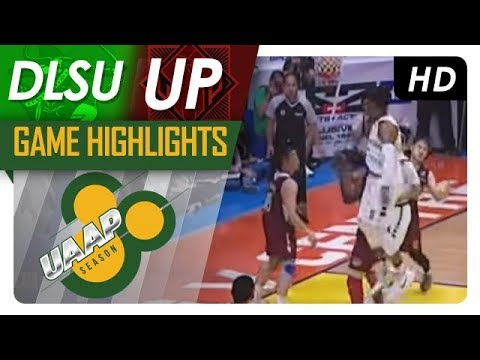 DLSU vs. UP Game Highlights | UAAP 80 Men's Basketball | October 15, 2017