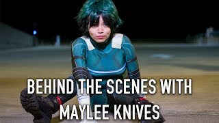 Behind the Scenes with Maylee Knives - Deku and Witch!