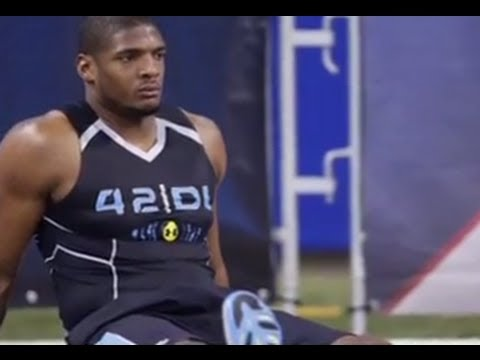 ESPN First Take's Stephen A. Smith And Skip Bayless Discuss Michael Sam's 2014 NFL Scouting Combine