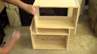 "Do It Yourself Musician #22 - Ikea Rast 19"" Studio Rack Mount Hack"