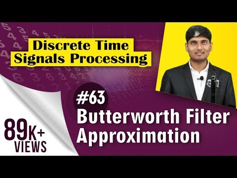 What is Butterworth filter Approximation