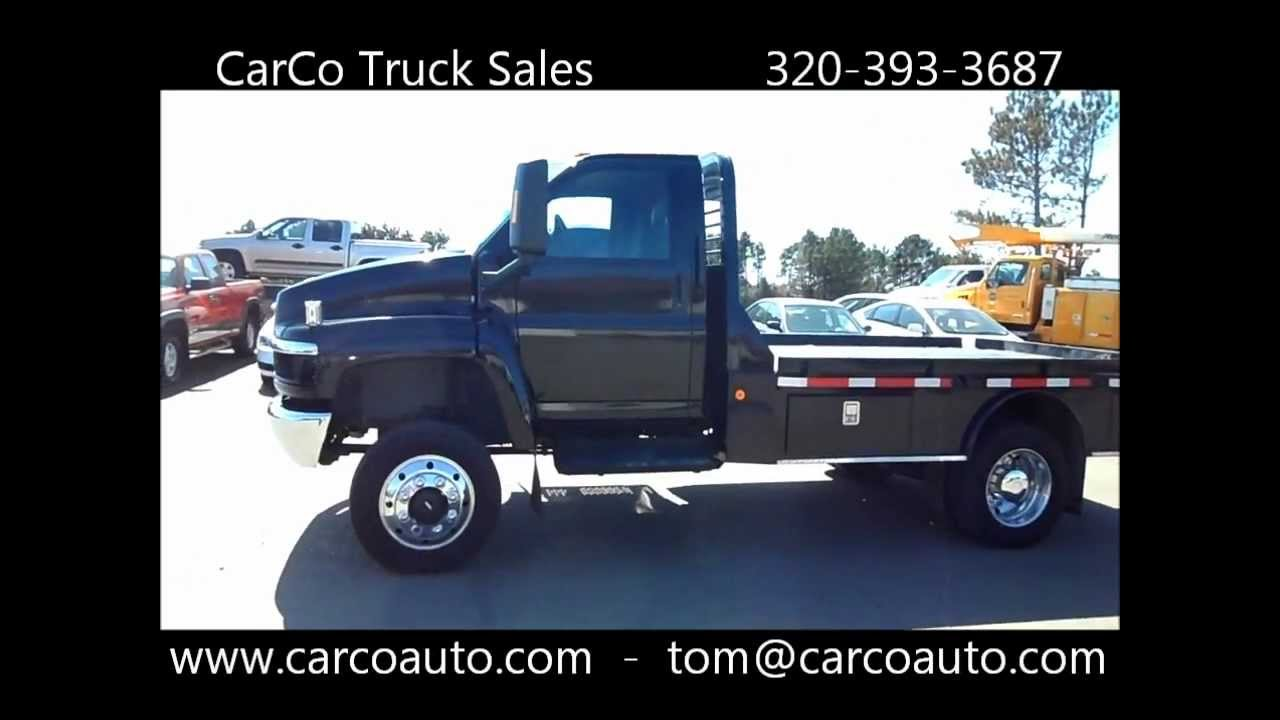 Chevrolet C4500 4x4 Flat Bed For Sale by Carco - YouTube