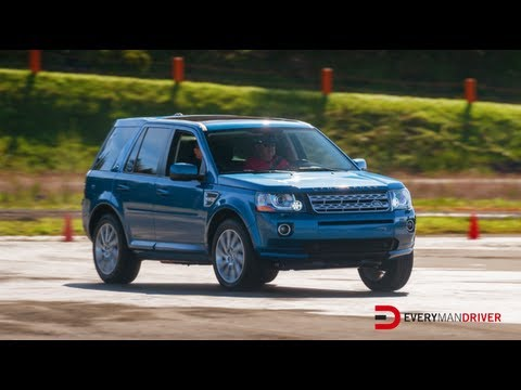 Here's the 2013 Land Rover LR2 on Everyman Driver