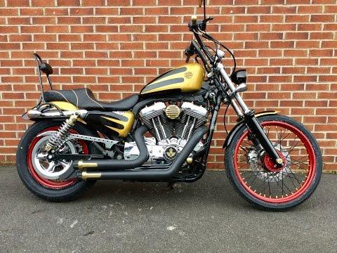 Harley Davidson 72 customised and accessorised www.ridersmotorcycles, stk# 23547