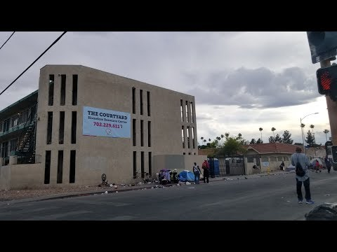 Homeless in Las Vegas, Nevada