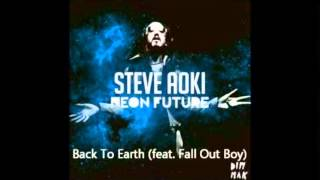 Steve Aoki ft Fall Out Boy - Back To Earth (Radio Edit)