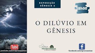 O DILÚVIO EM GÊNESIS - REV. AUGUSTINHO