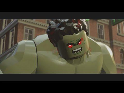 LEGO Marvel's Avengers – Iron Man v Hulk (Boss Battle) [1080p 60FPS HD]
