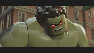LEGO Marvel's Avengers - Iron Man v Hulk (Boss Battle) [1080p 60FPS HD]
