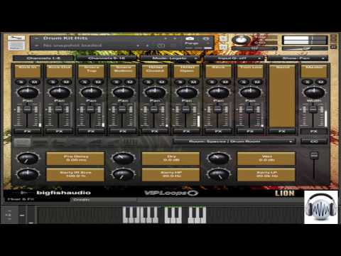Demo - Big Fish Audio Lion Reggae Productions | KONTAKT