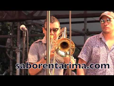 La 33 Orquesta Colombian Band Lluvia Con Nieve 7 3 2010 Youtube