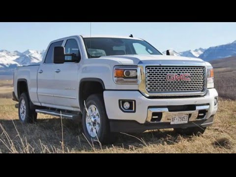 2017 GMC Sierra Denali HD 2500 4x4 Diesel reviews - YouTube