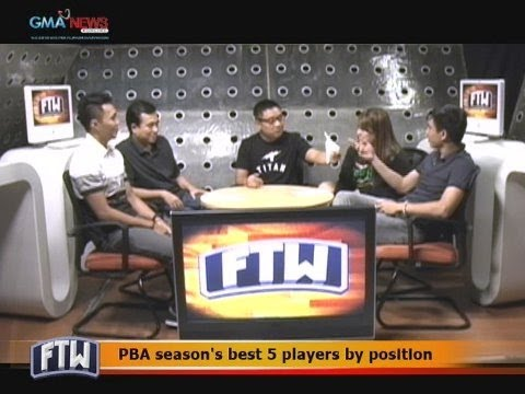 FTW: PBA season's best 5 players by position