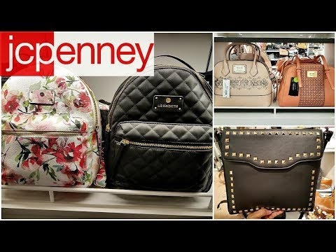 Shop With ME JCPENNY HANDBAGS CROSSBODY DISNEY JEWELRY WALK THROUGH MAY 2018