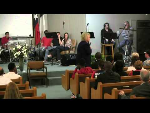 Glenda Jackson Ministers and the Glory of God hits the service in Houston area on 3-31-2013 part 2