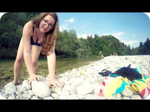 DOWN BY SAVA RIVER | Slovenia (Travel Vlog 337)