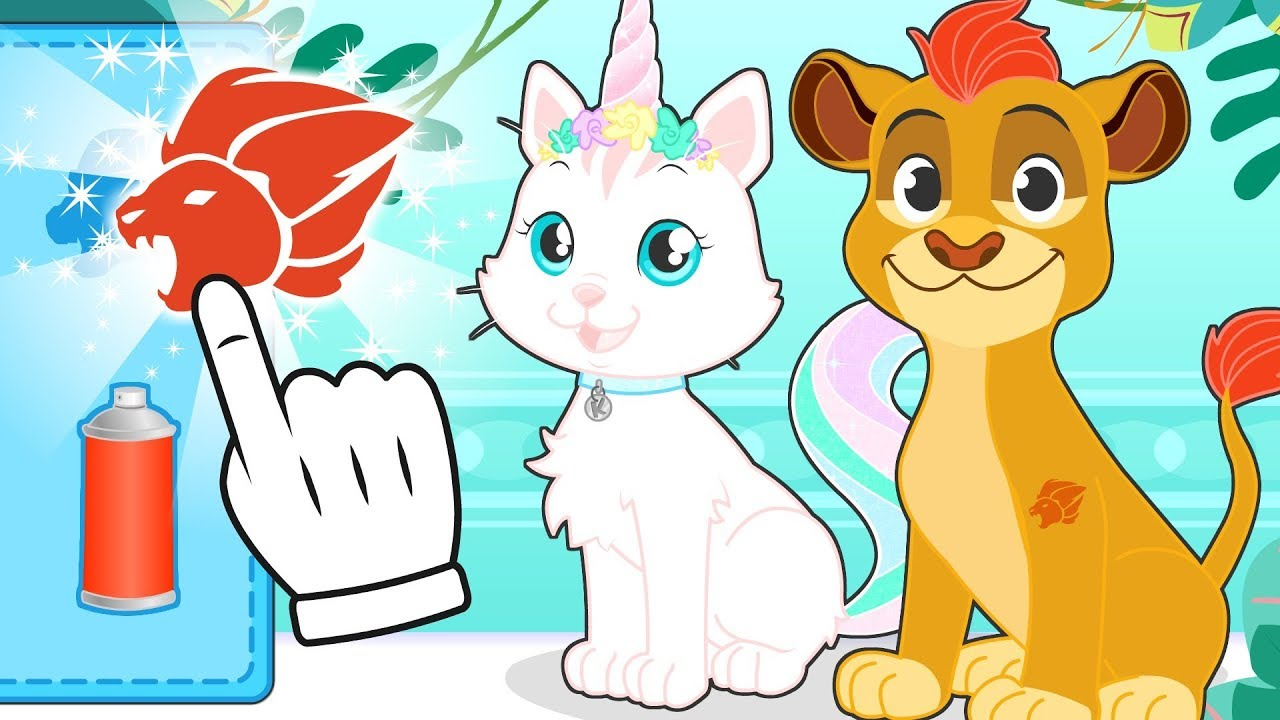 baby-pets-kira-and-max-dress-up-as-the-lion-guard-my-little-pony-superpets-and-more