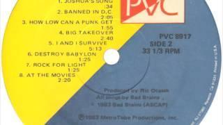 Bad Brains - Rock for Light [Full Album] Original vinyl mix (1983)